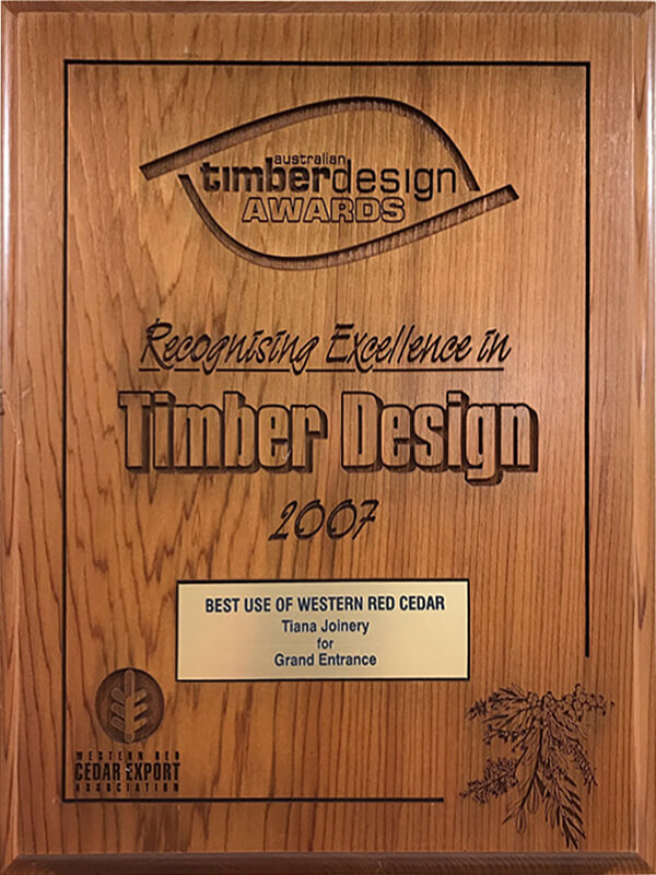 Timber Design Award
